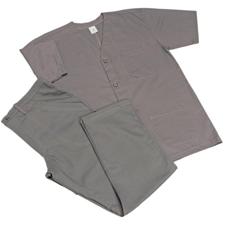 jaleco-curto-sem-gola-com-botao-com-tres-bolsos-calca-modelo-1-2-elastico-no-cos-com-bolsos